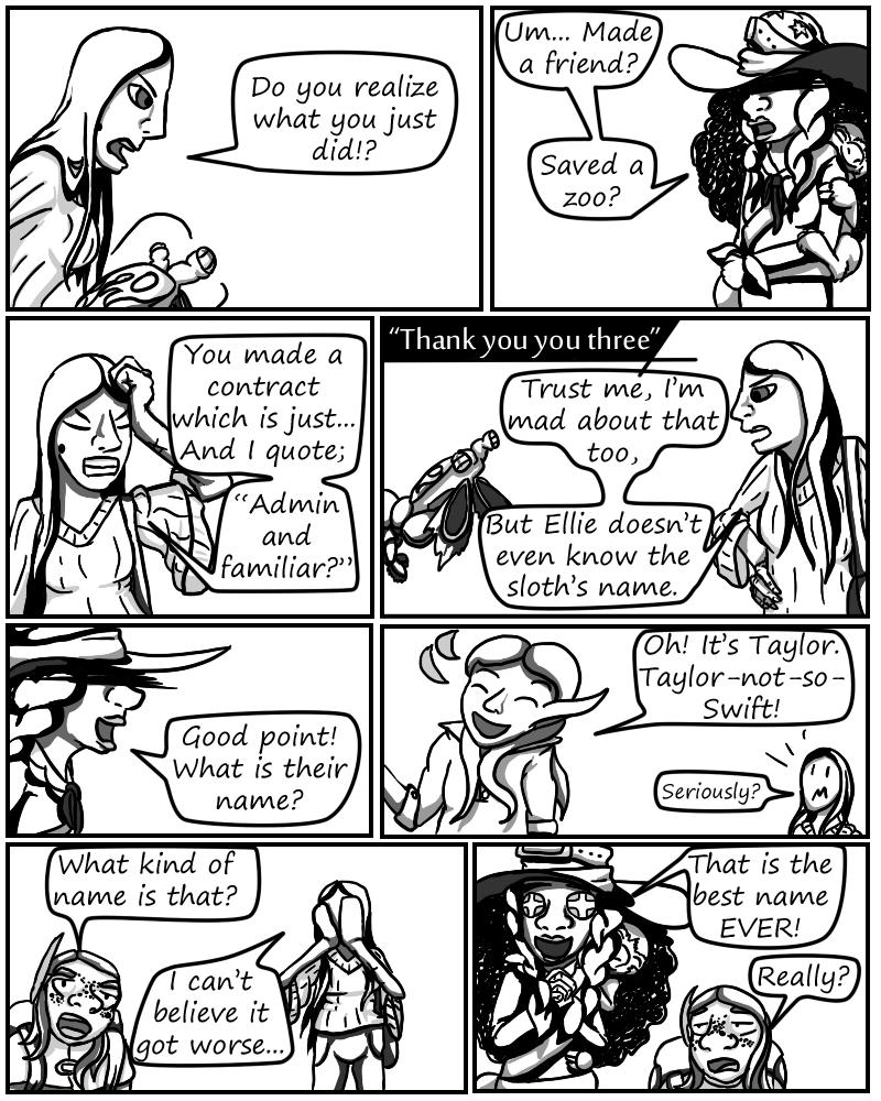 Zebracorn page 71