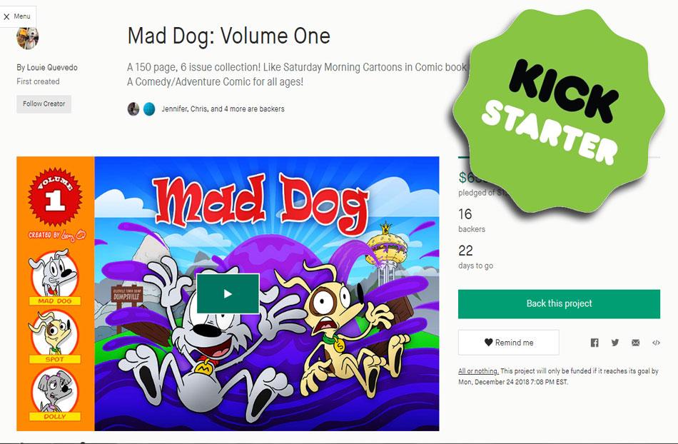 Mad Dog is on Kickstarter!