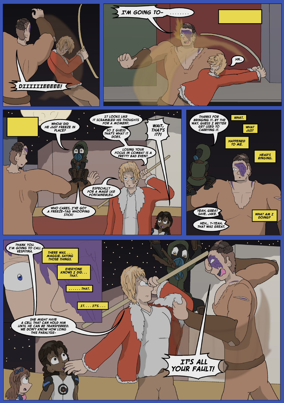Blue vs. Gold, Page 37