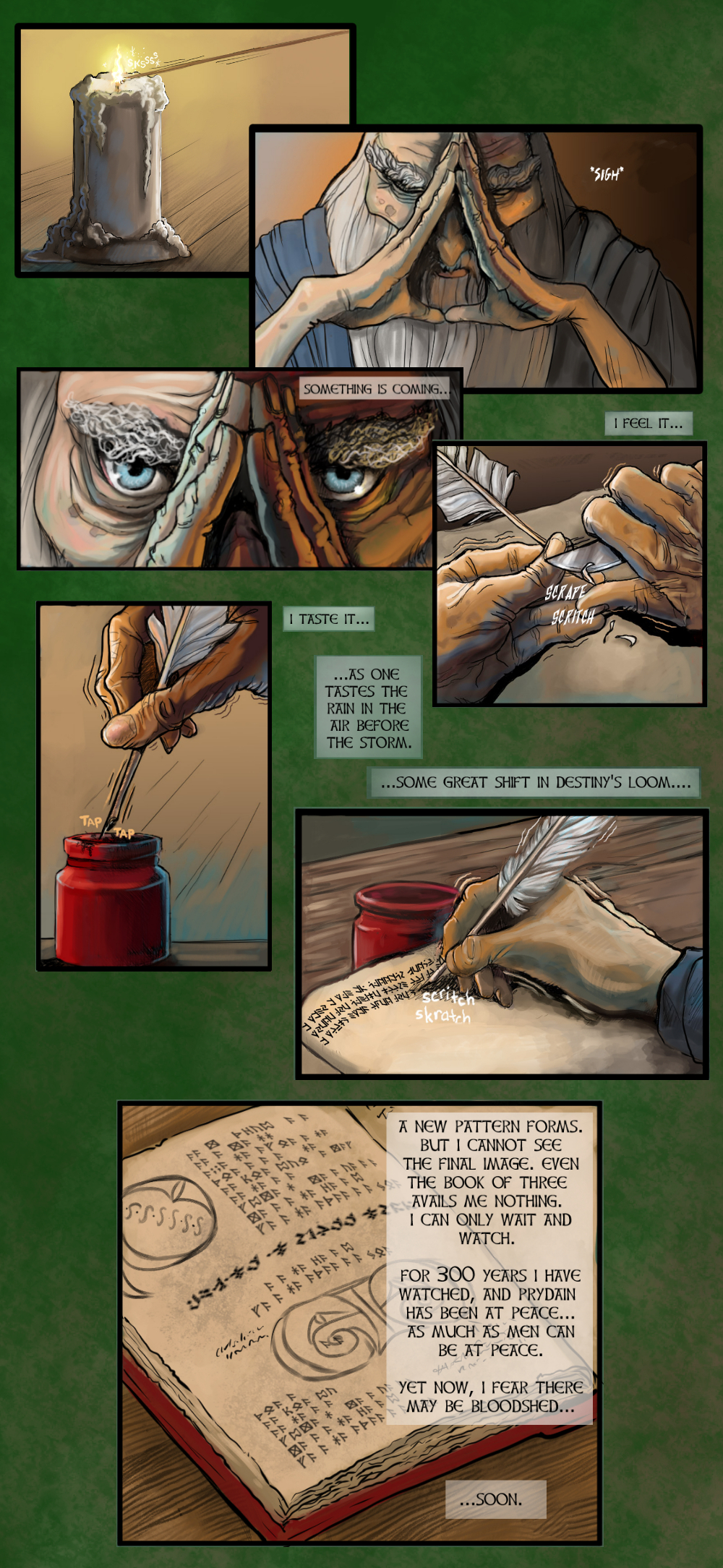 Chapter One: Page One