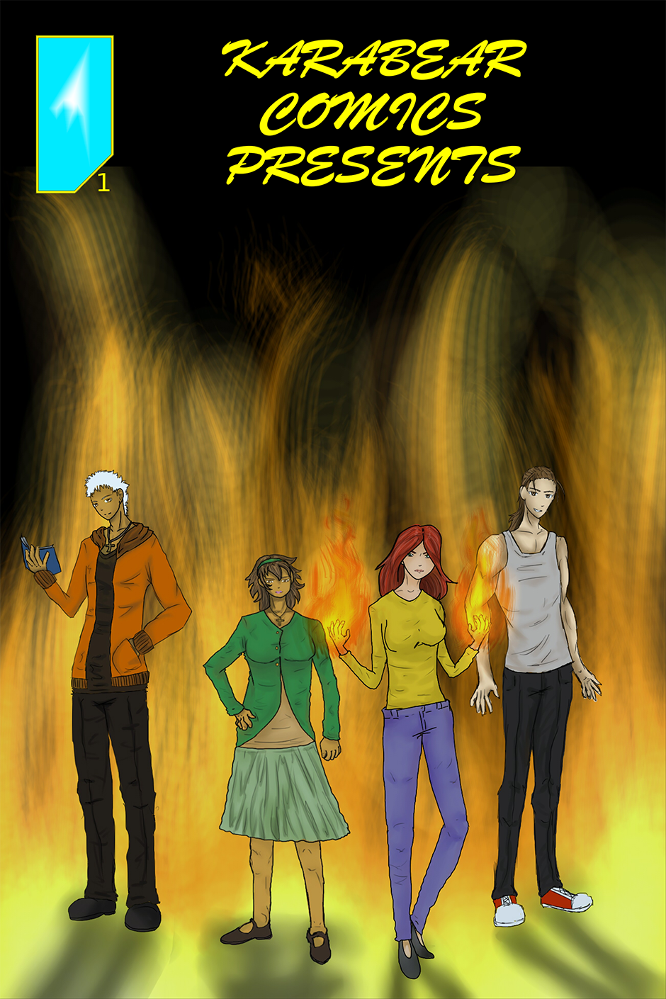 Issue 1: Genesis - Cover