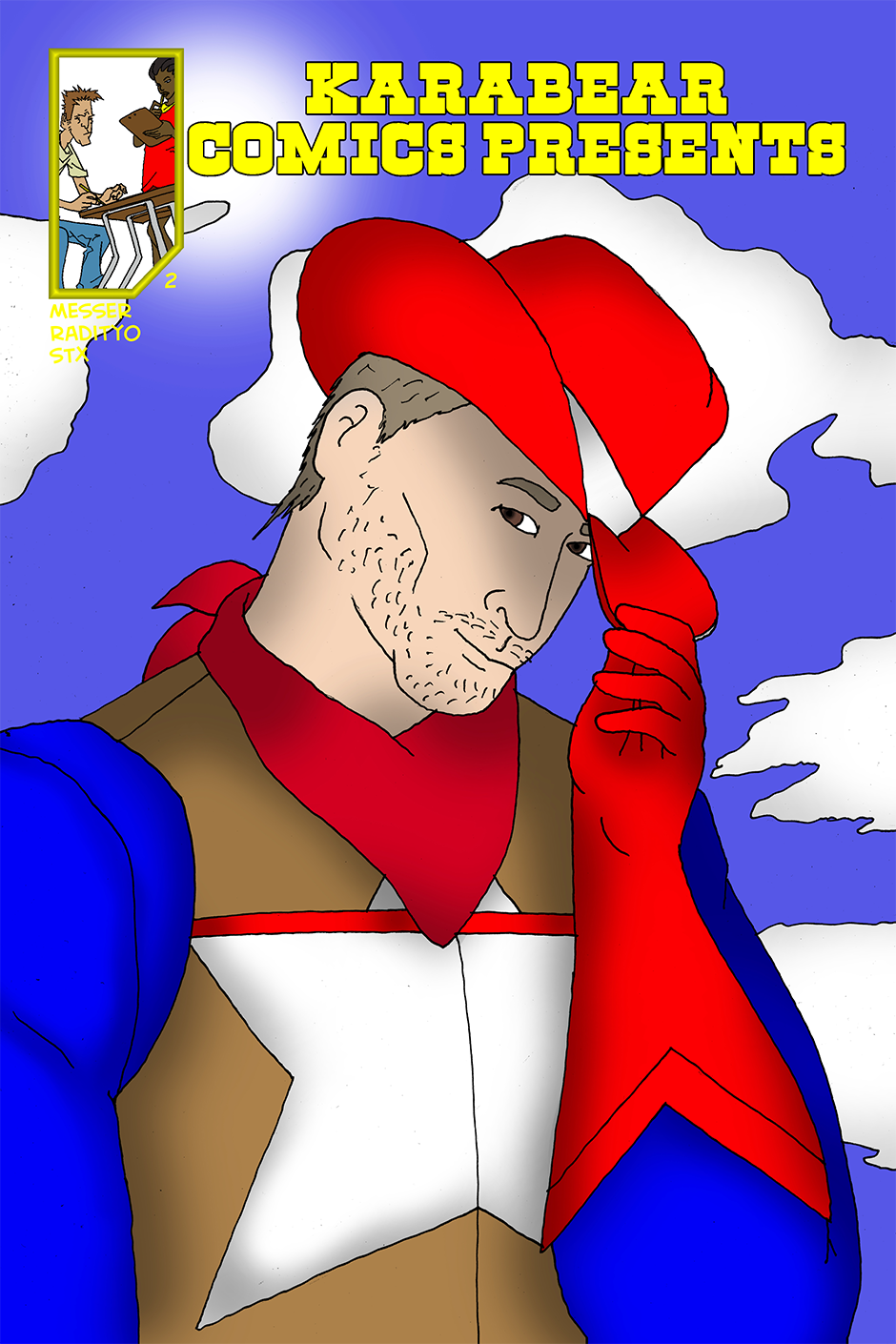 Issue 2: American Cowboy - Cover