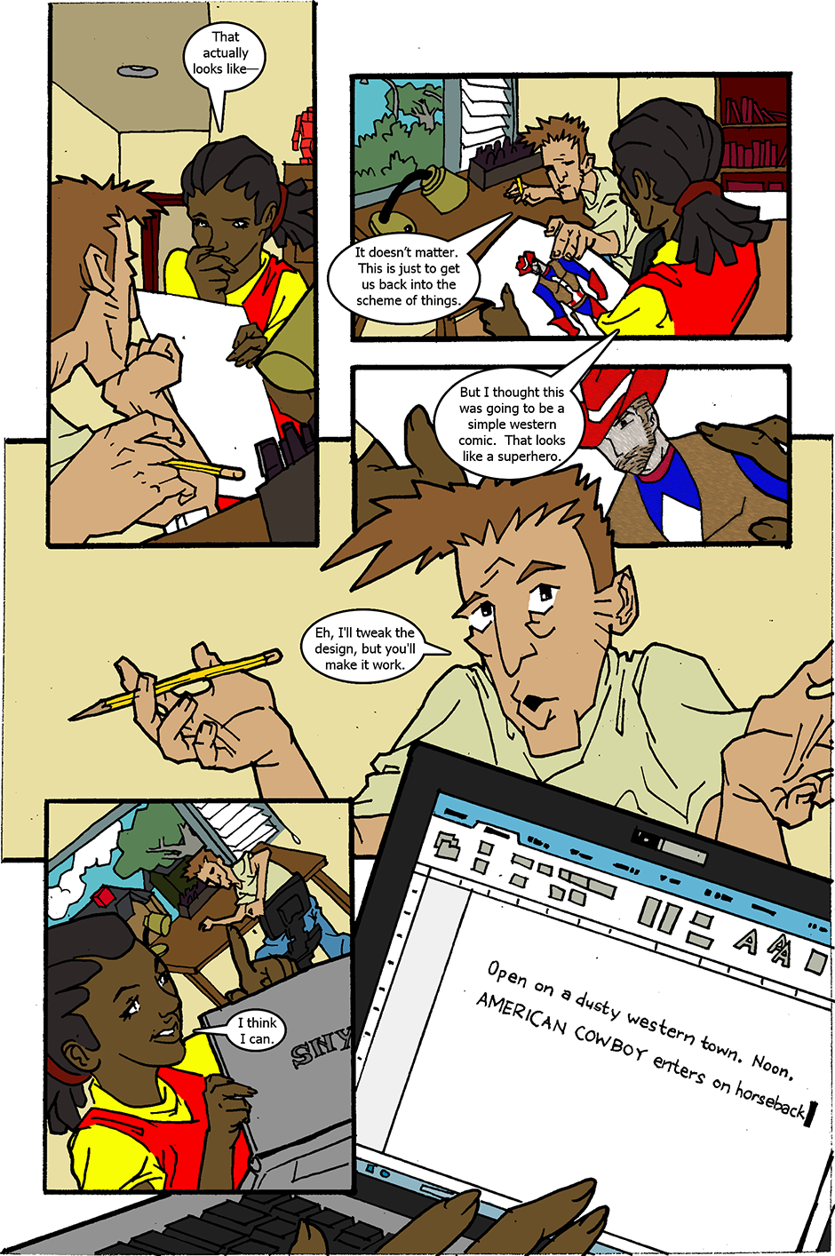 Issue 2: American Cowboy - Page 2