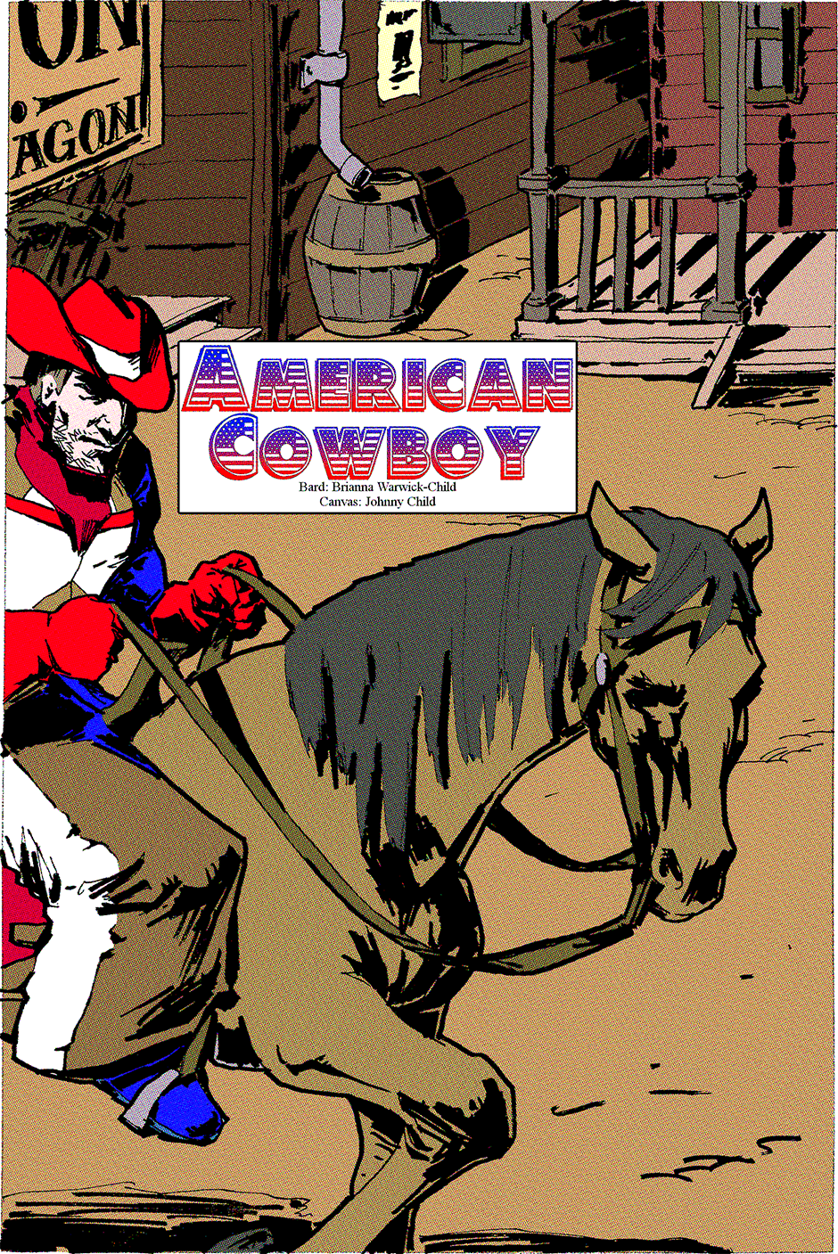 Issue 2: American Cowboy - Page 3