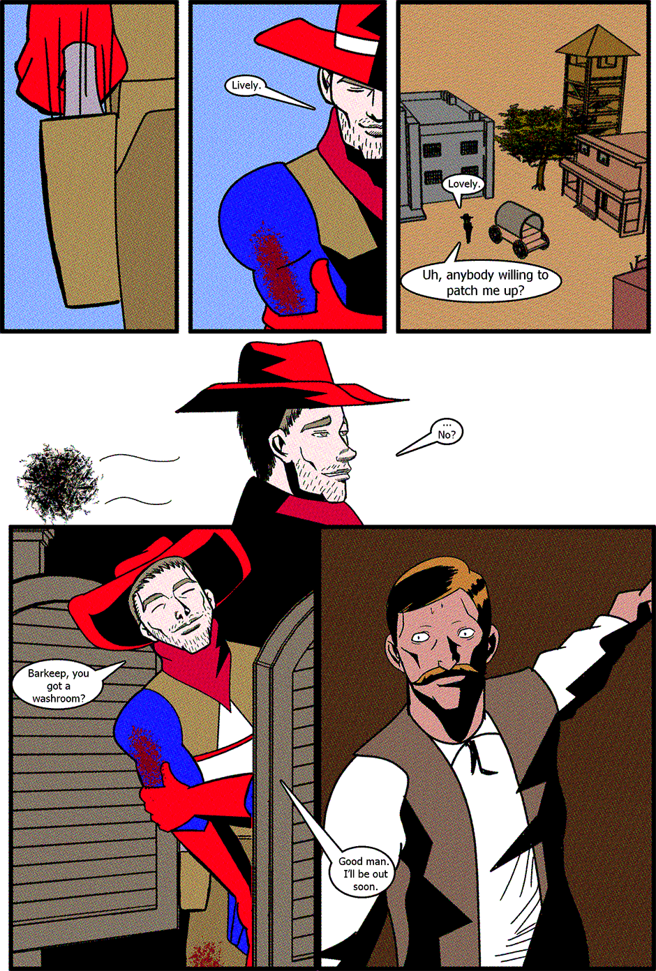 Issue 2: American Cowboy - Page 10