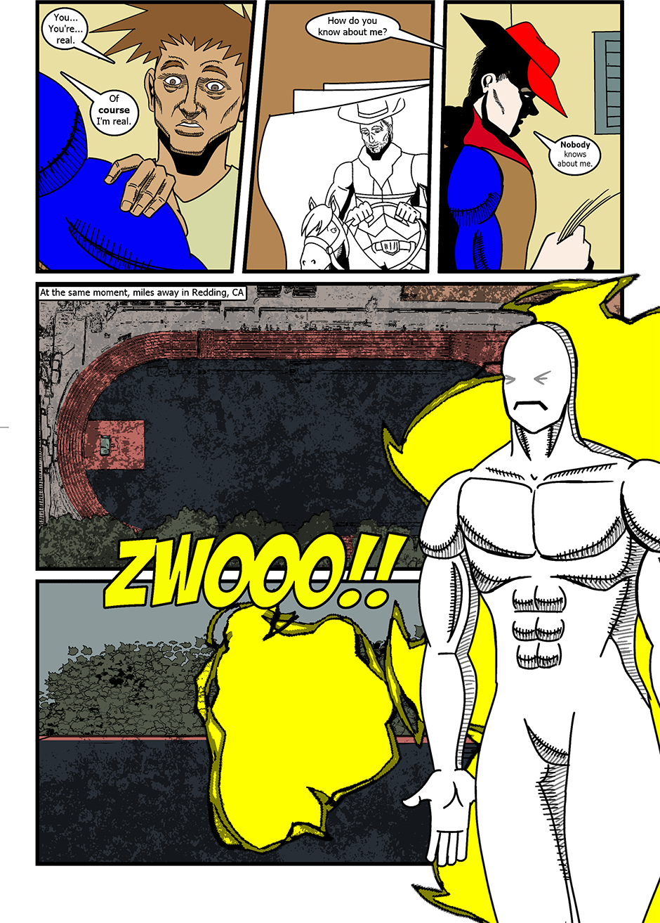 Issue 3: The Real and the Unreal - Page 3