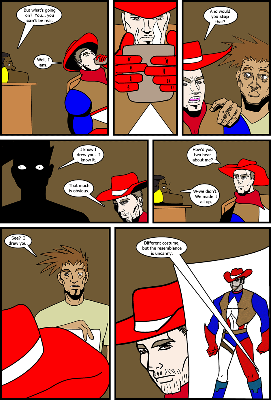 Issue 3: The Real and the Unreal - Page 5