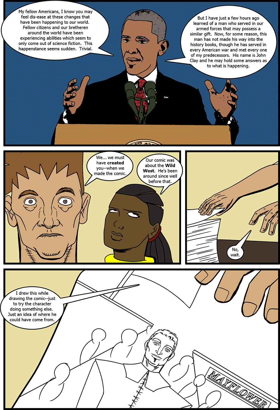Issue 3: The Real and the Unreal - Page 9