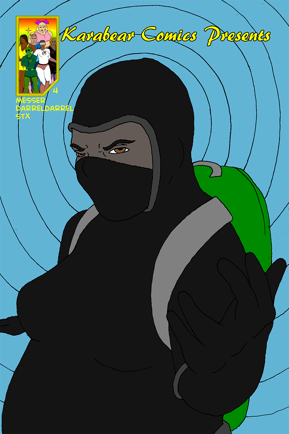 Issue 4: B.A.D. - Cover