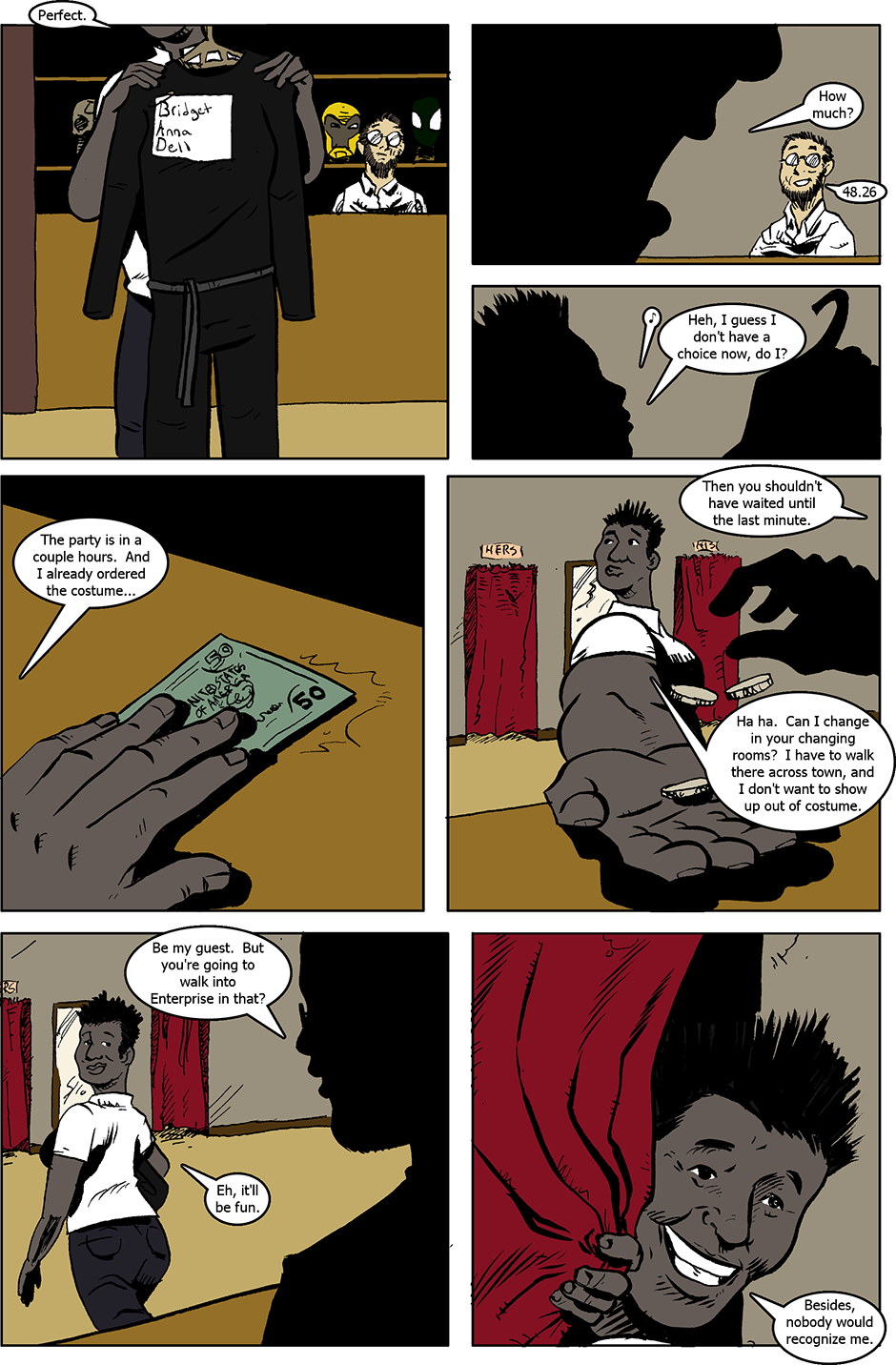 Issue 4: B.A.D. - Page 1