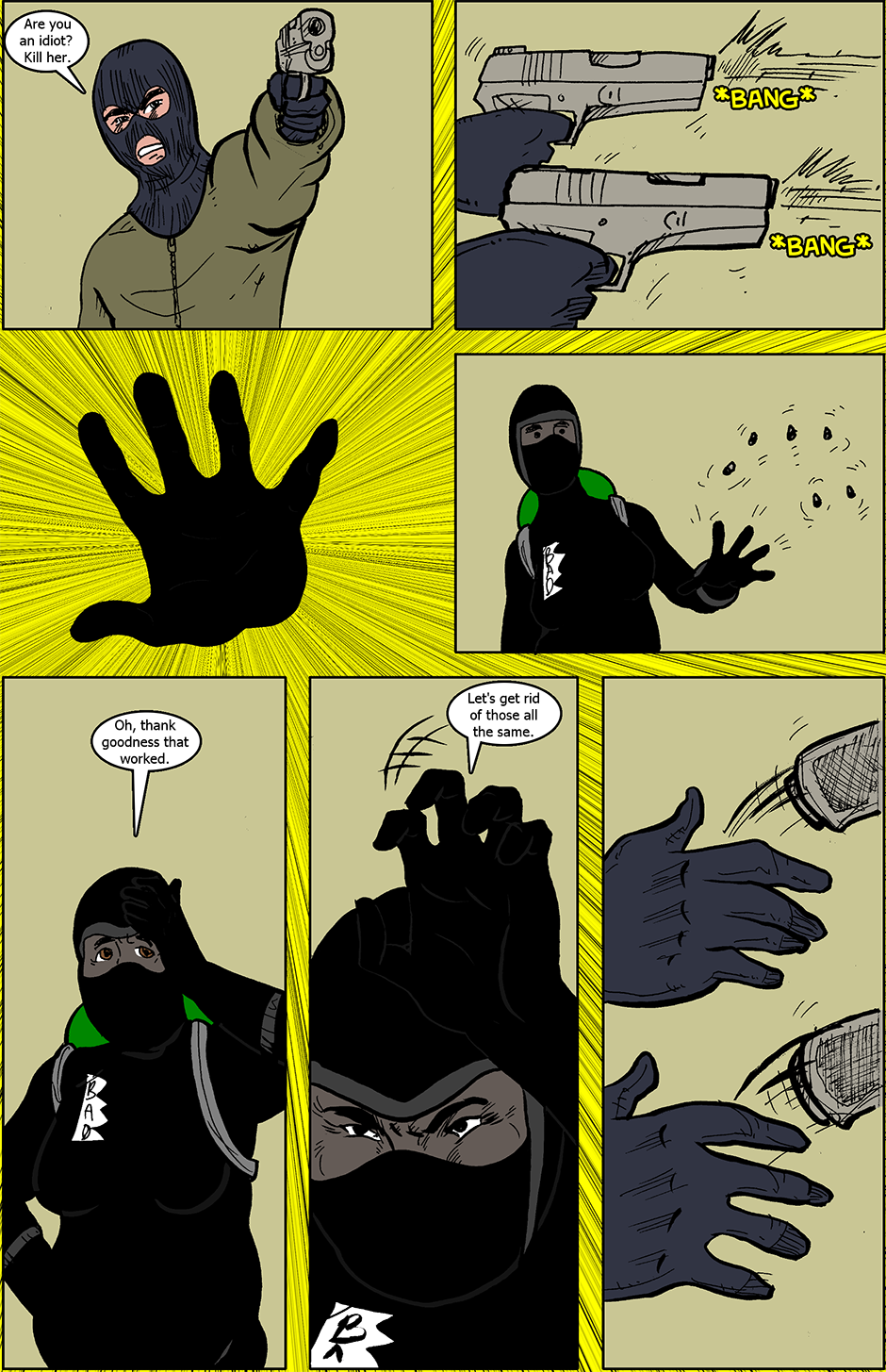 Issue 4: B.A.D. - Page 7