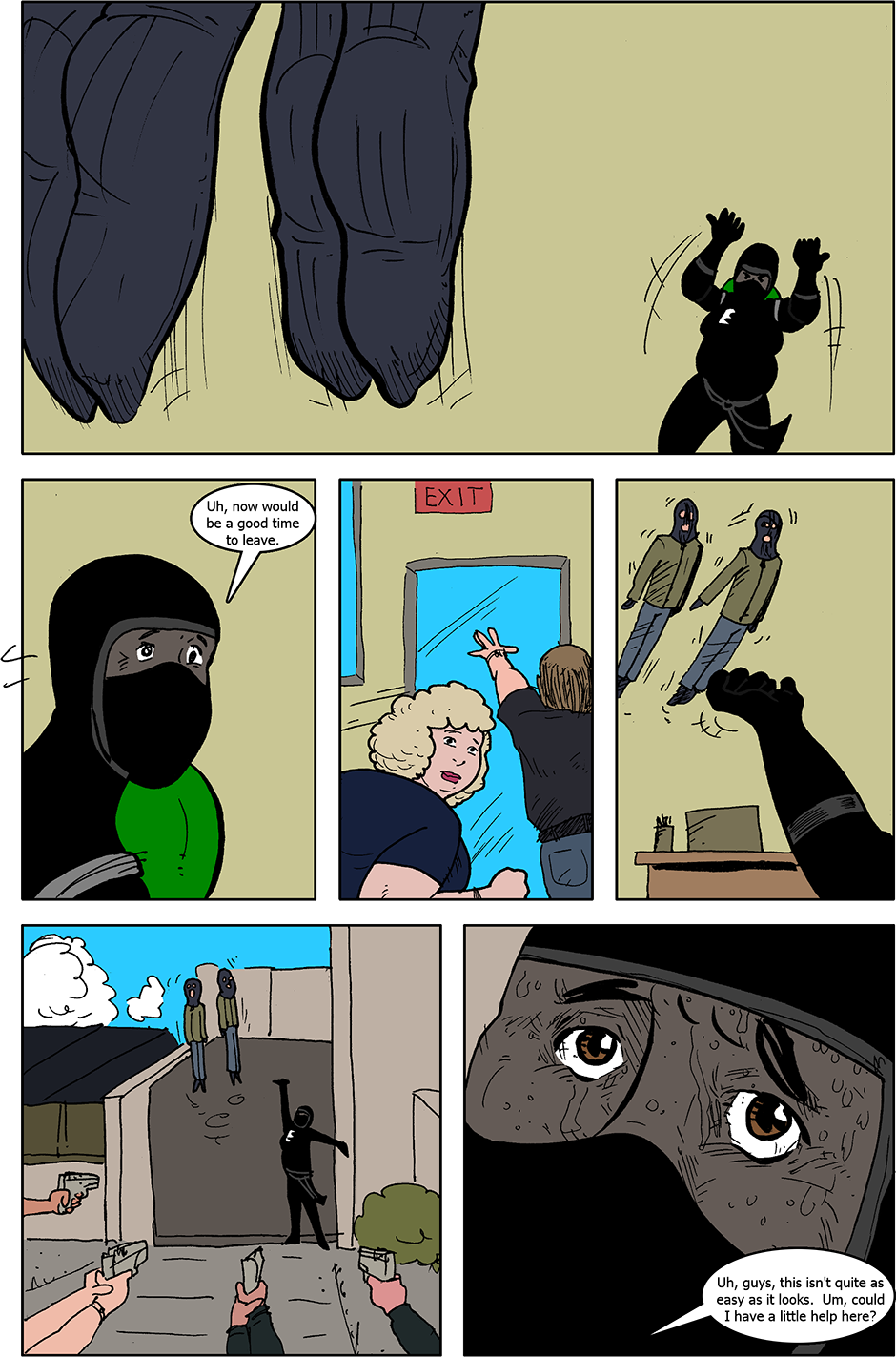 Issue 4: B.A.D. - Page 8