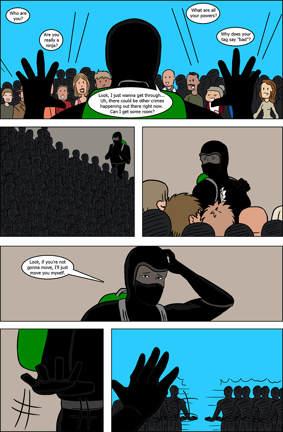 Issue 4: B.A.D. - Page 10