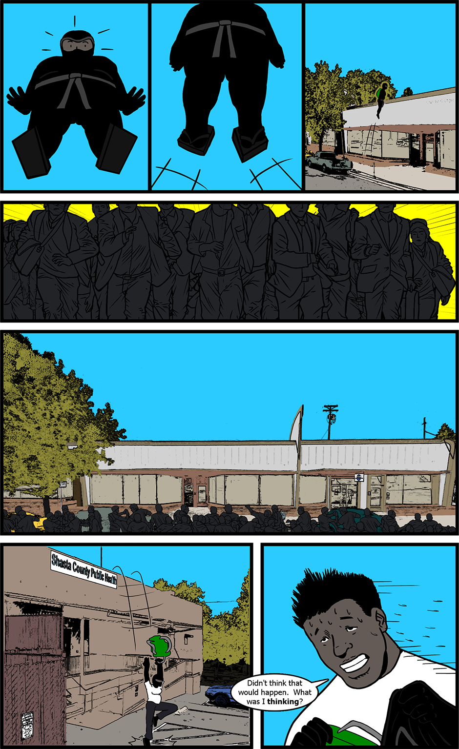 Issue 4: B.A.D. - Page 12
