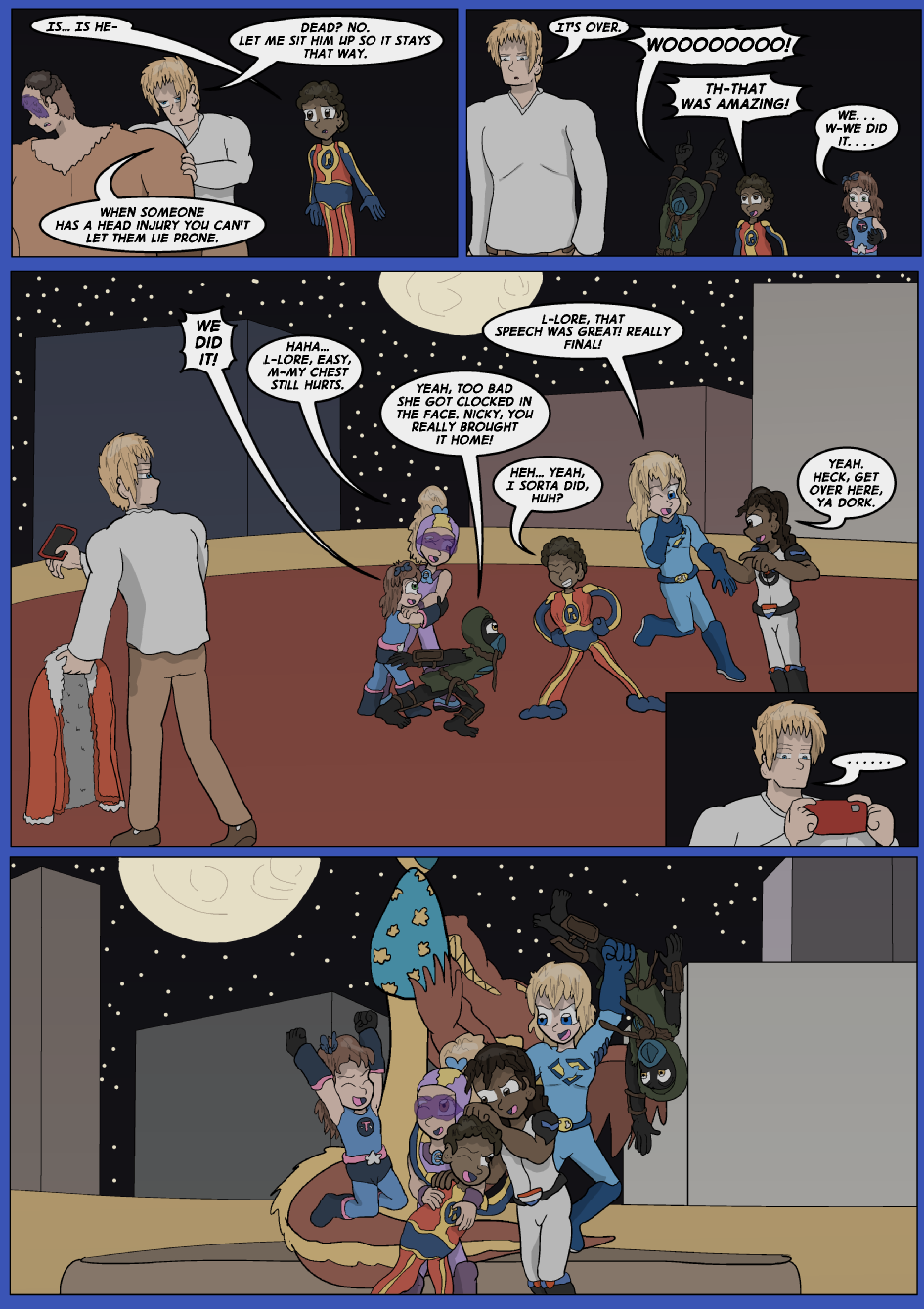 Blue vs. Gold, Page 41