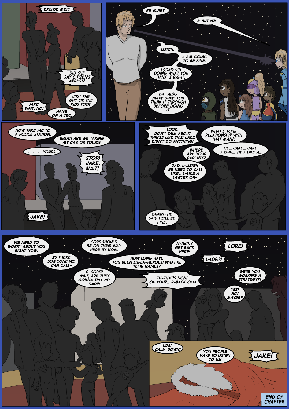 Blue vs. Gold, Page 44