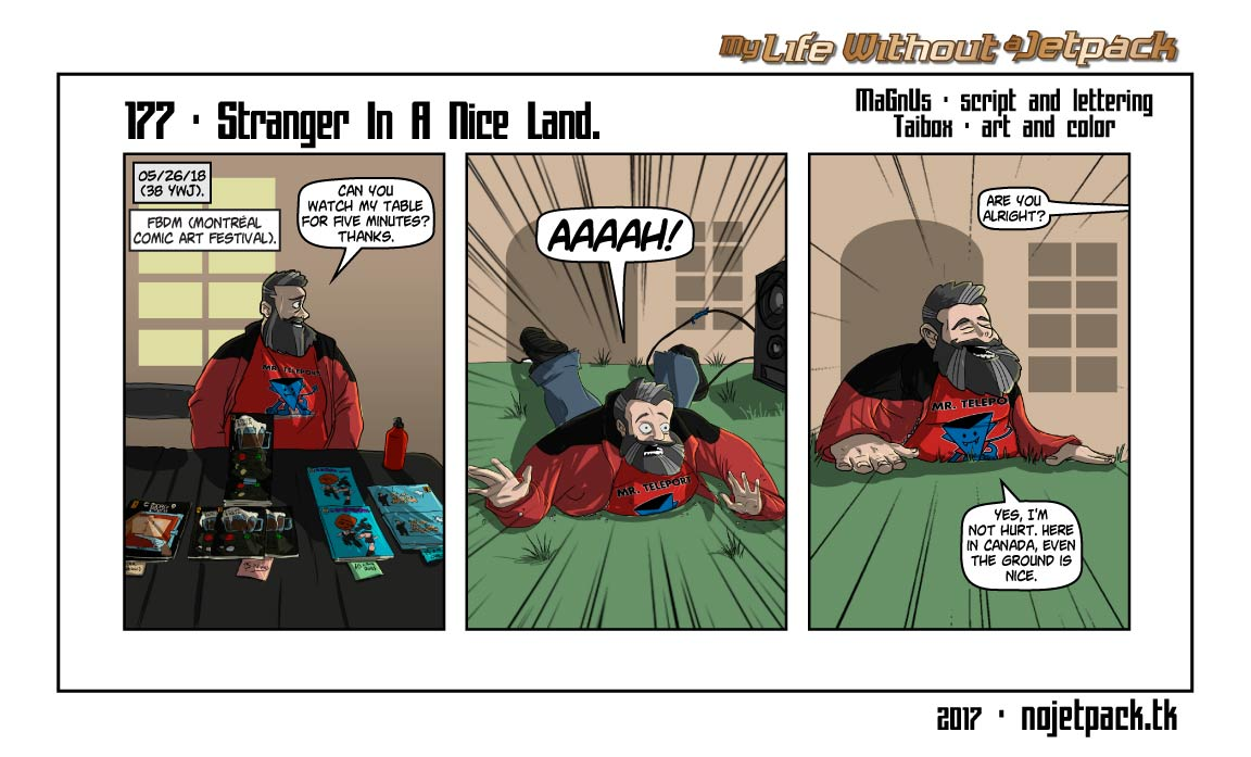 177 - Stranger In A Nice Land