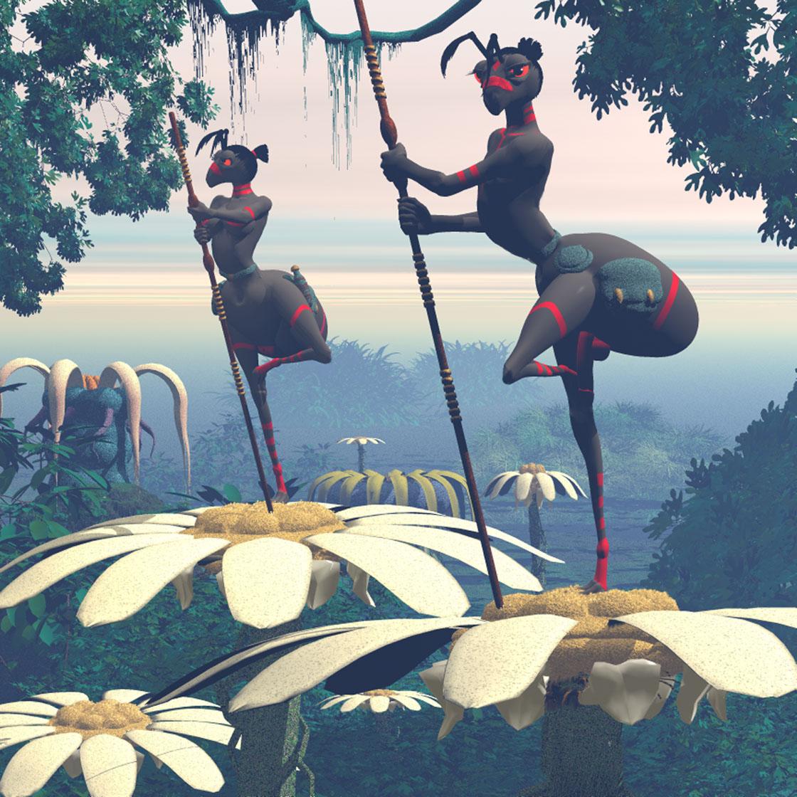 Bonus art: Marabunta sentries