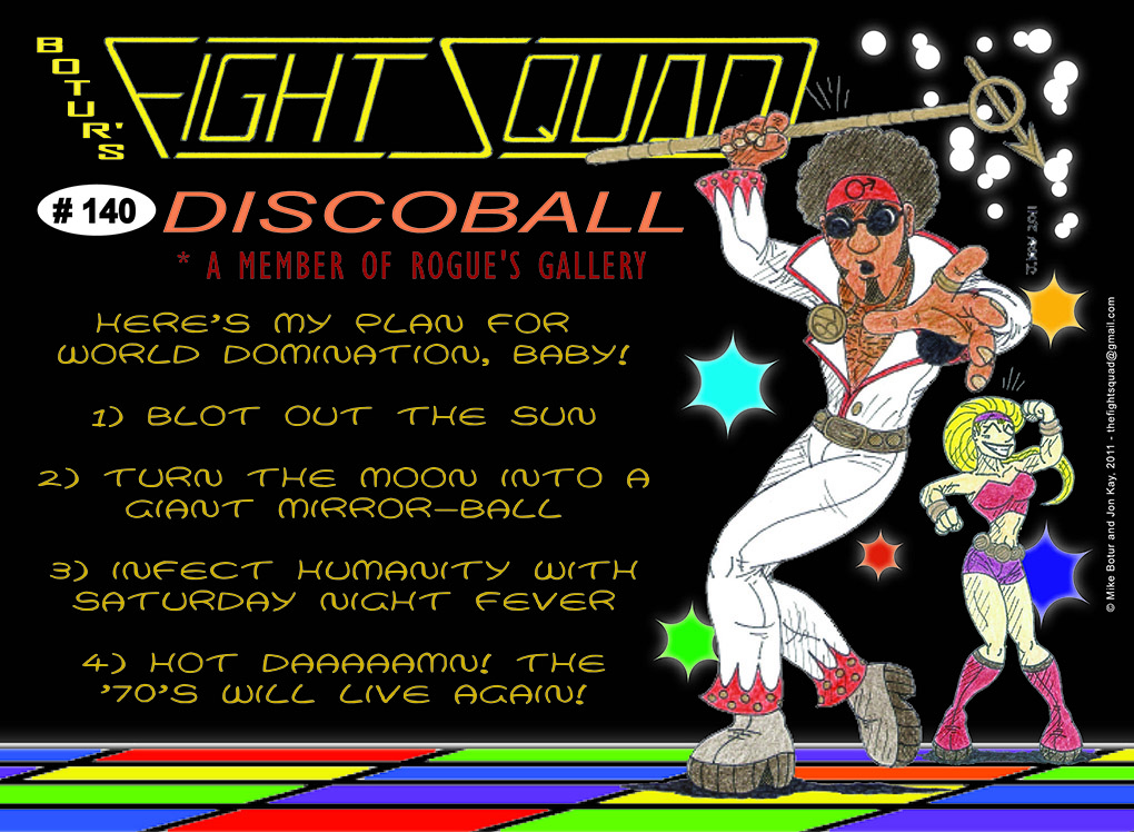 Character profile: DiscoBall