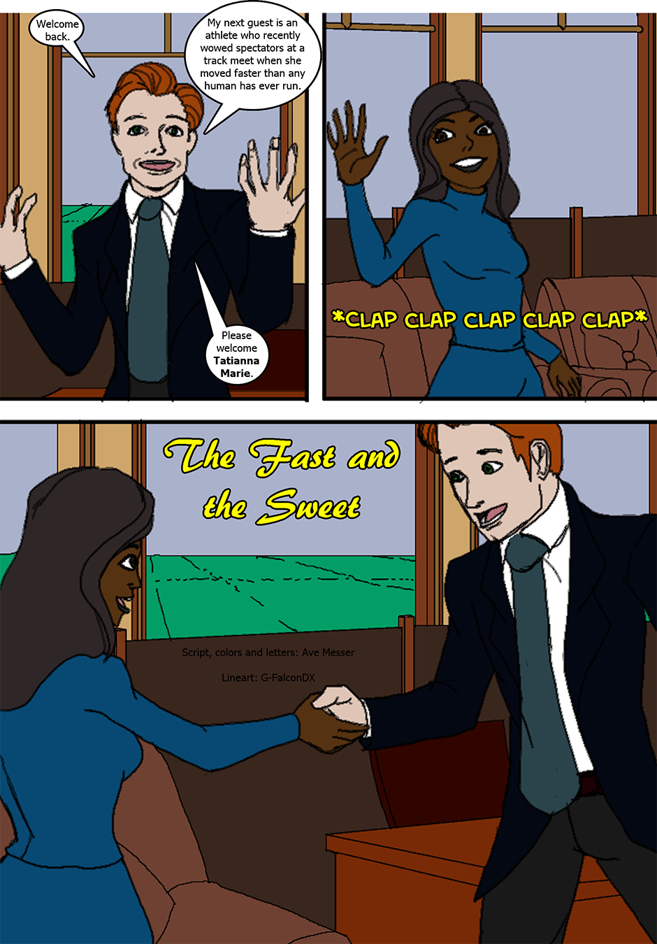 Issue 6: The Fast and the Sweet - Page 1