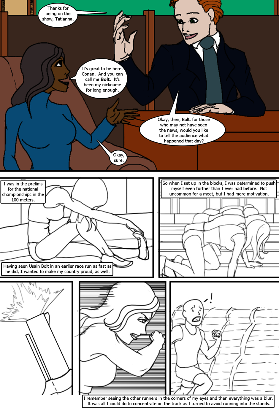 Issue 6: The Fast and the Sweet - Page 2