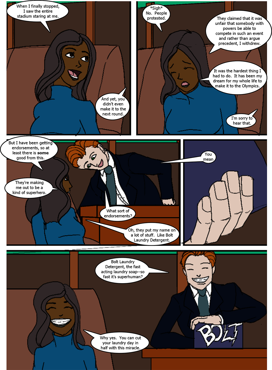 Issue 6: The Fast and the Sweet - Page 3
