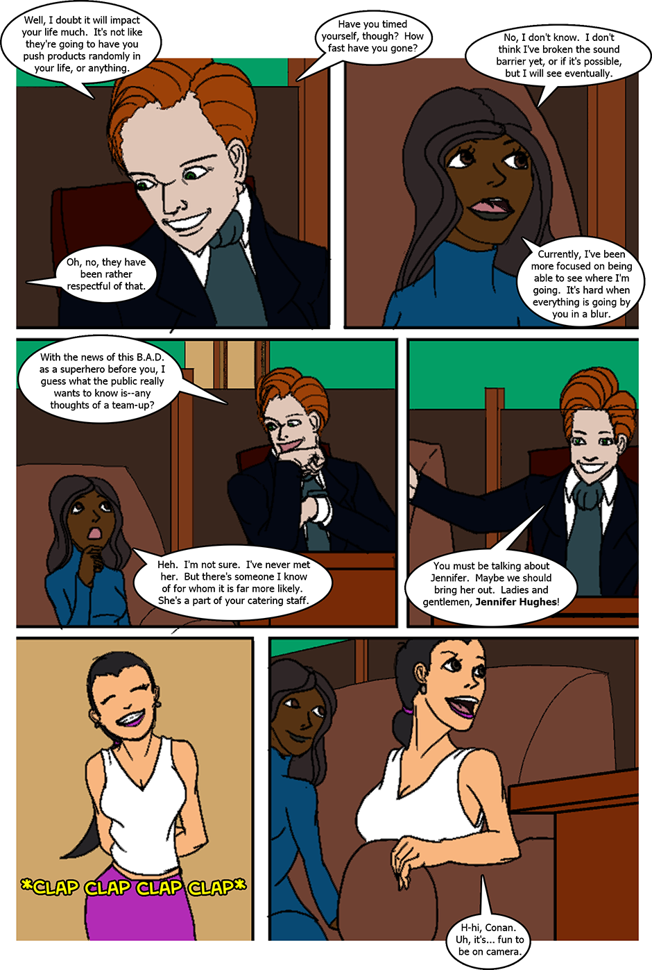 Issue 6: The Fast and the Sweet - Page 4
