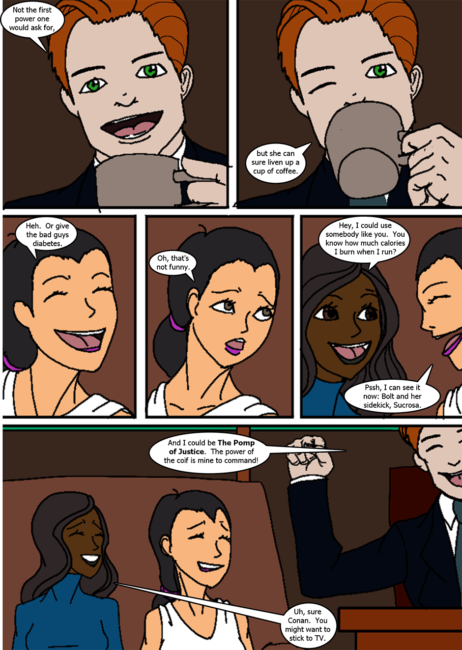 Issue 6: The Fast and the Sweet - Page 6