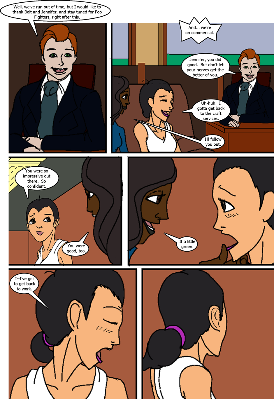 Issue 6: The Fast and the Sweet - Page 7