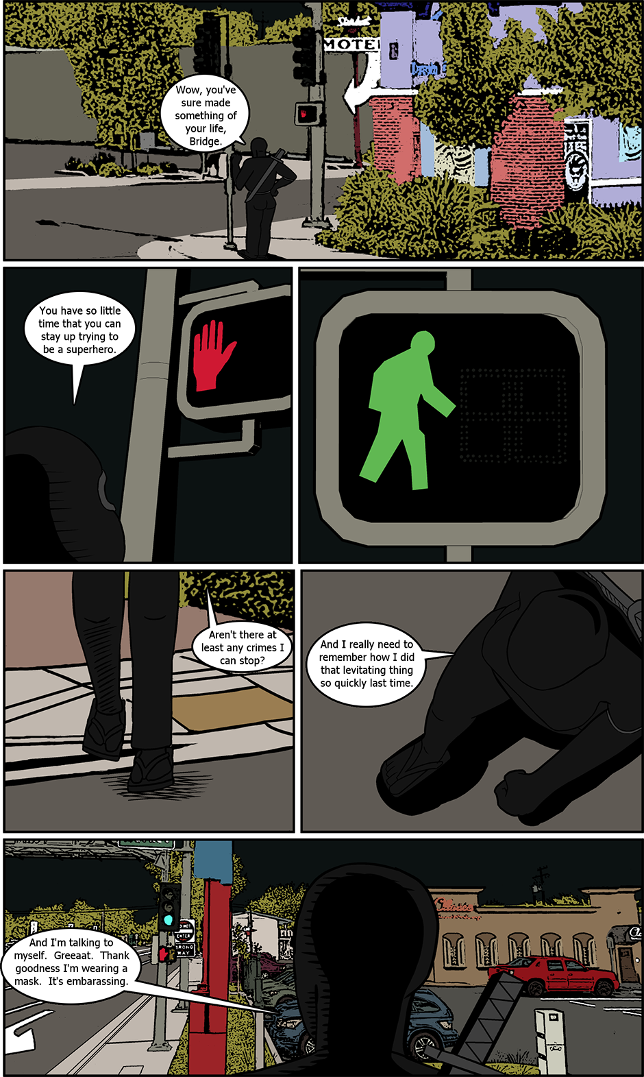 Issue 7: The Second Time - Page 1