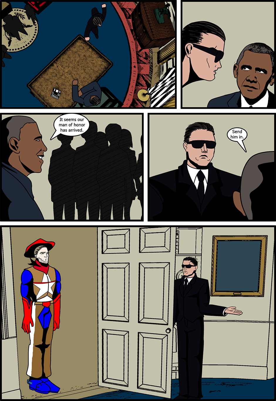 Issue 8: Meet the Press - Page 1