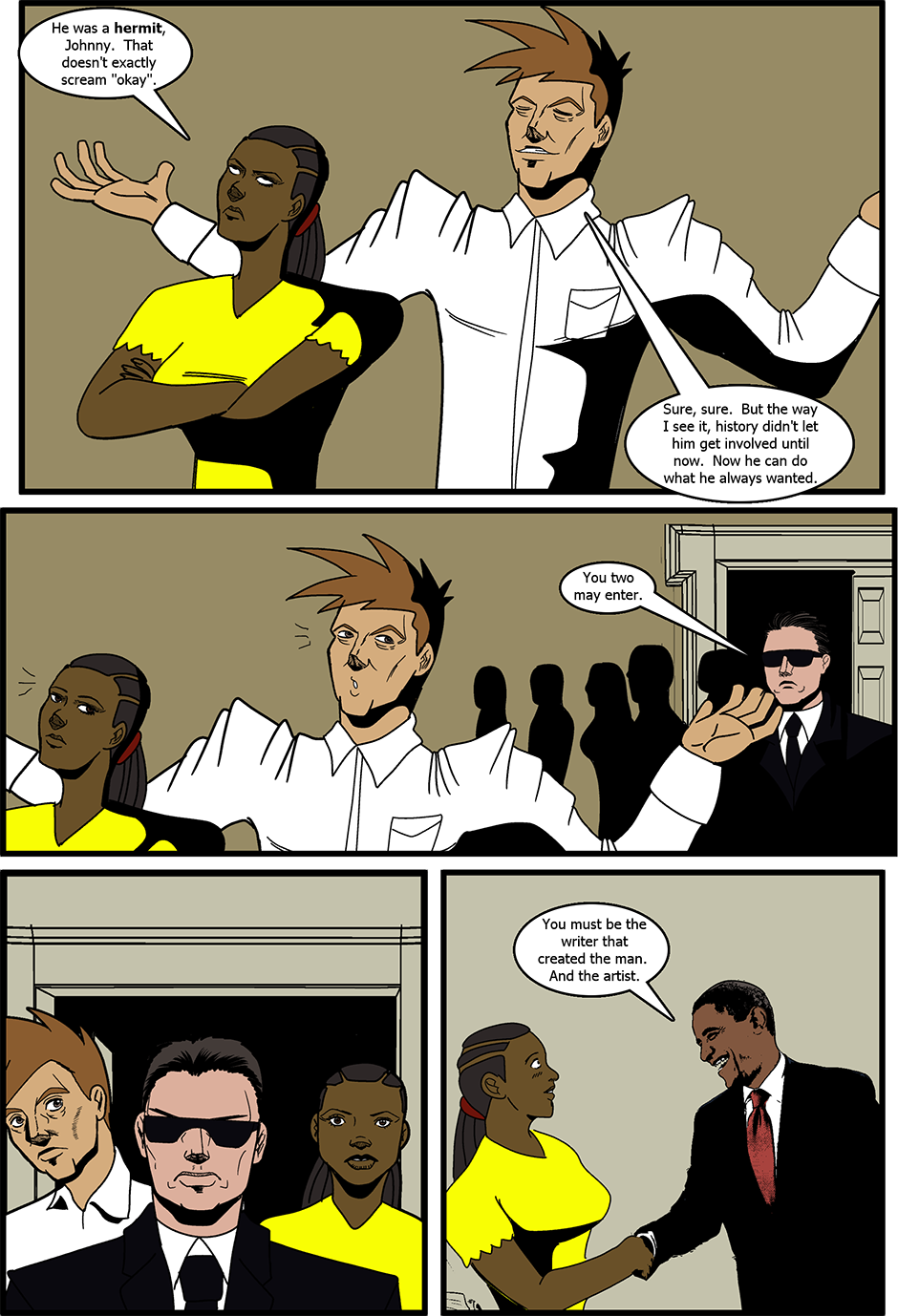 Issue 8: Meet the Press - Page 6