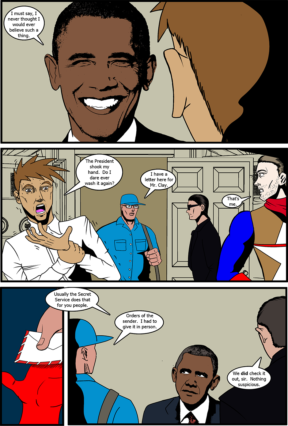 Issue 8: Meet the Press - Page 7
