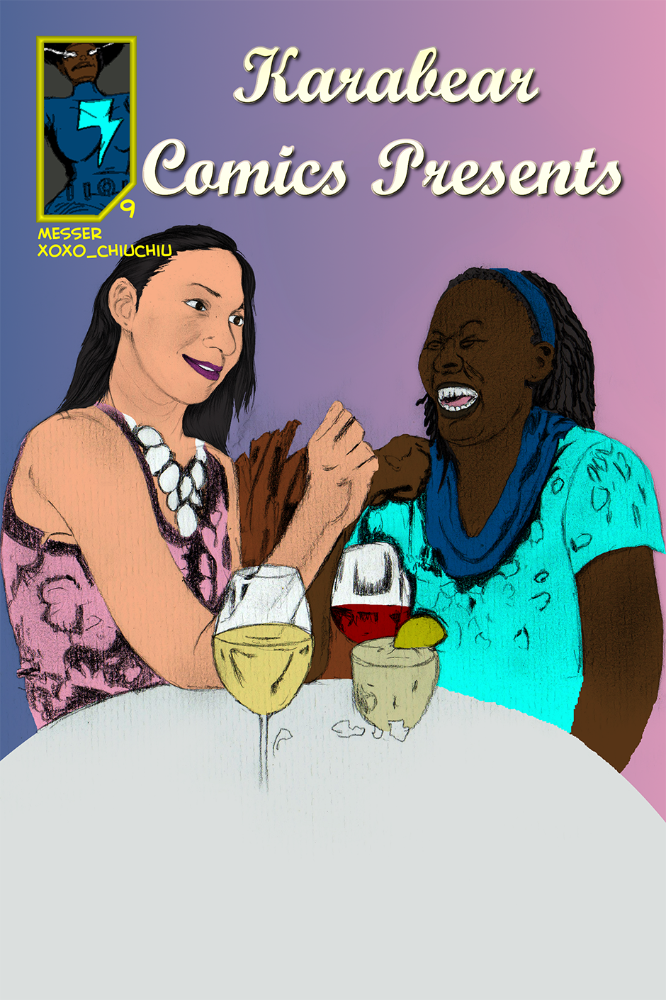 Issue 9: A Fast and Sweet Dinner - Cover