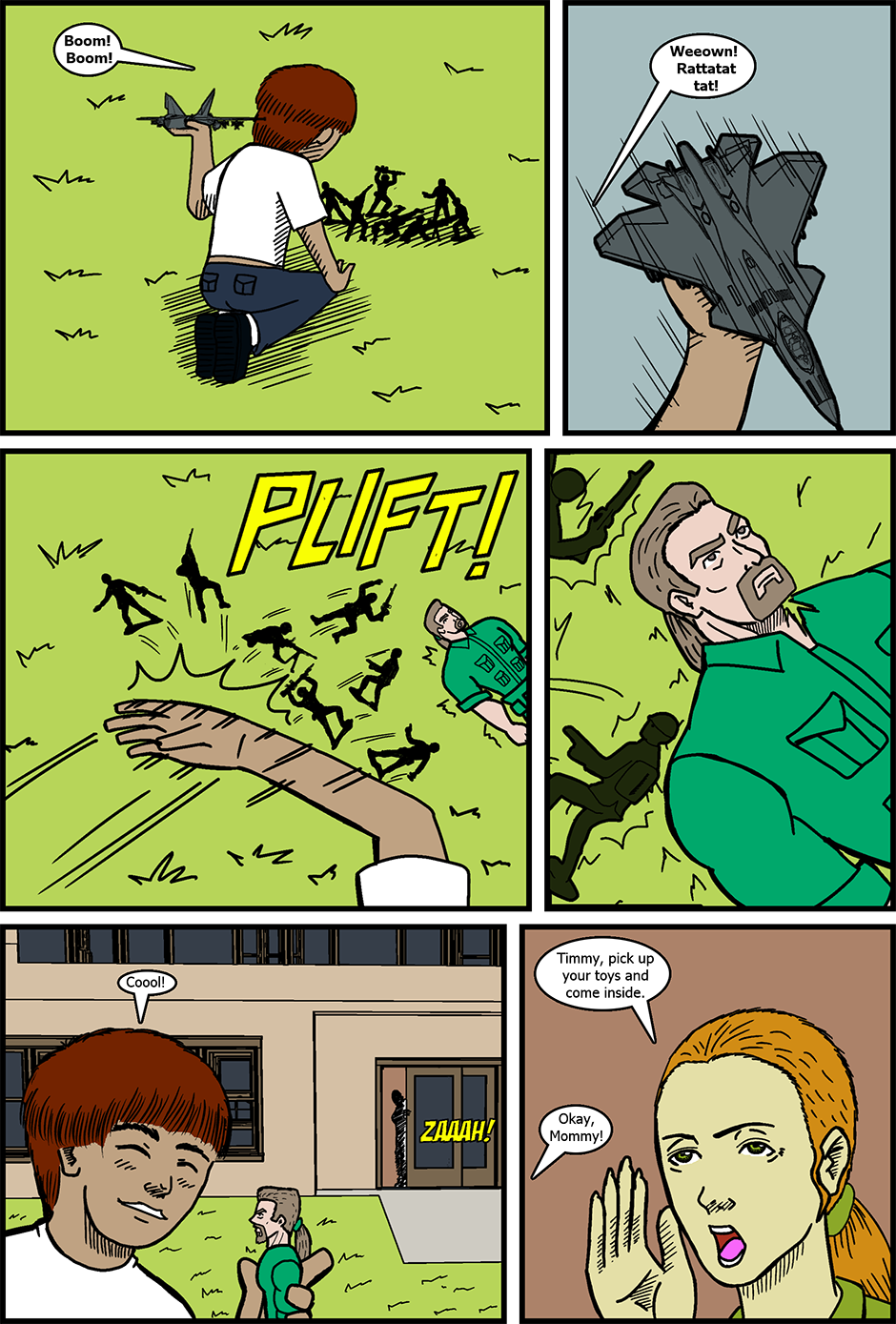Issue 10: The Dark Side of Power - Page 1