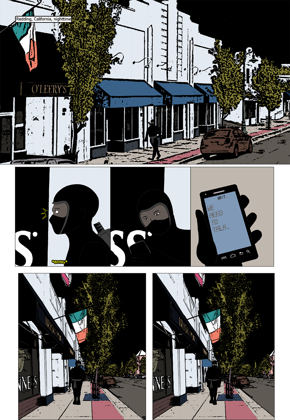 Issue 11: Muted - Page 1