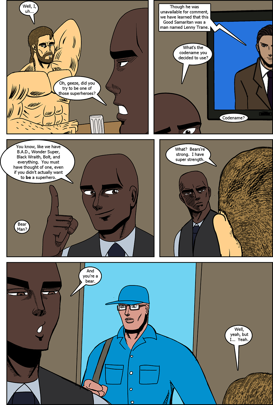 Issue 12: Bear Man - Page 5