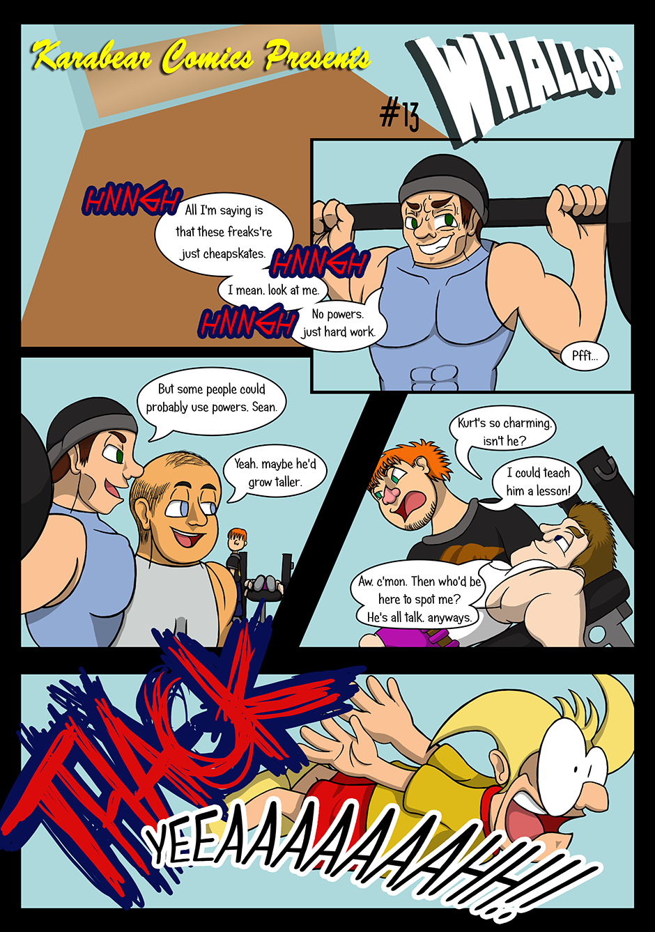 Issue 13: Whallop - Page 1