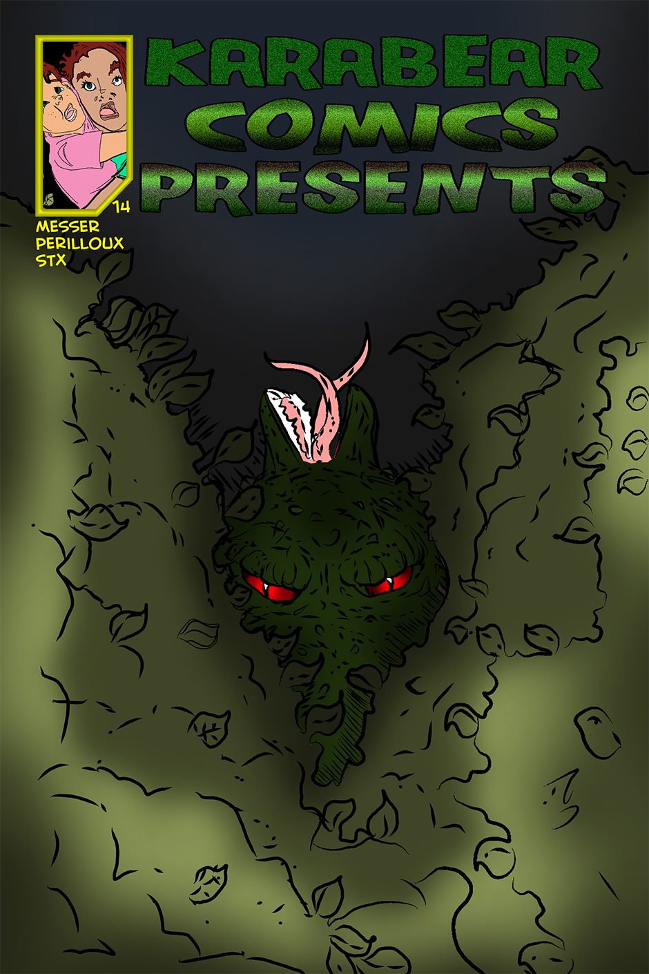 Issue 14: The Pseudomorph - Cover