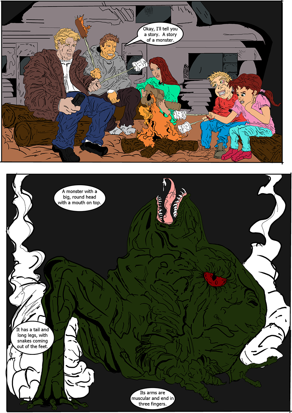 Issue 14: The Pseudomorph - Page 1