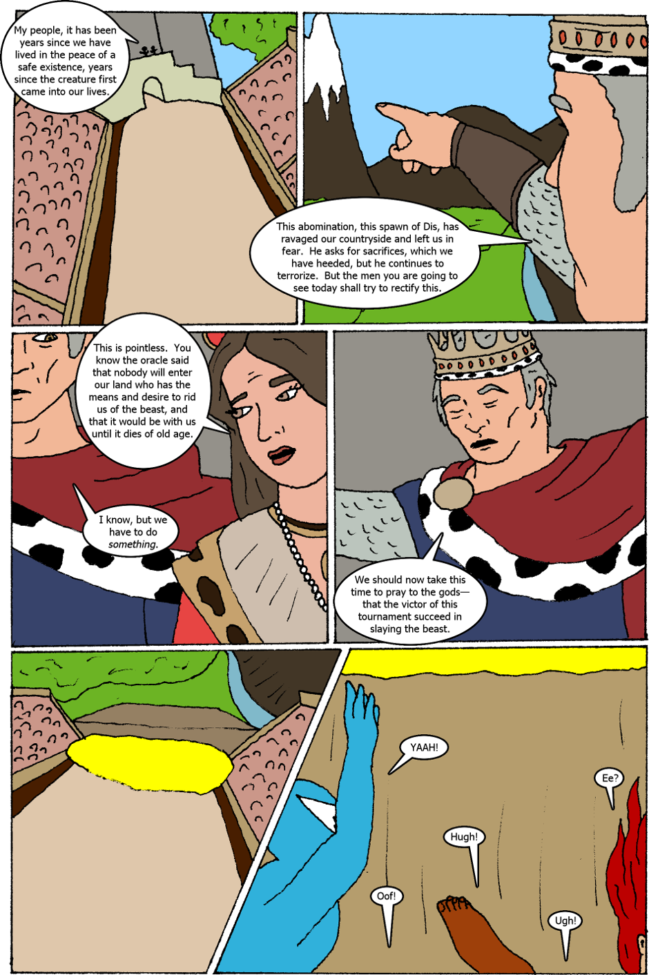 Issue 1: The Call - Page 2