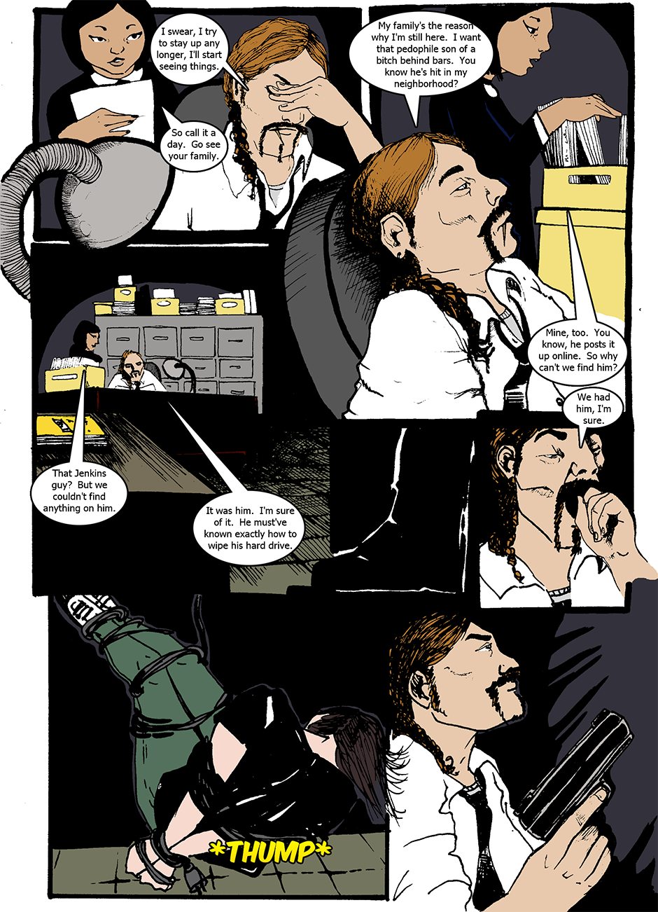 Issue 1: The Wraith Emerges - Page 1