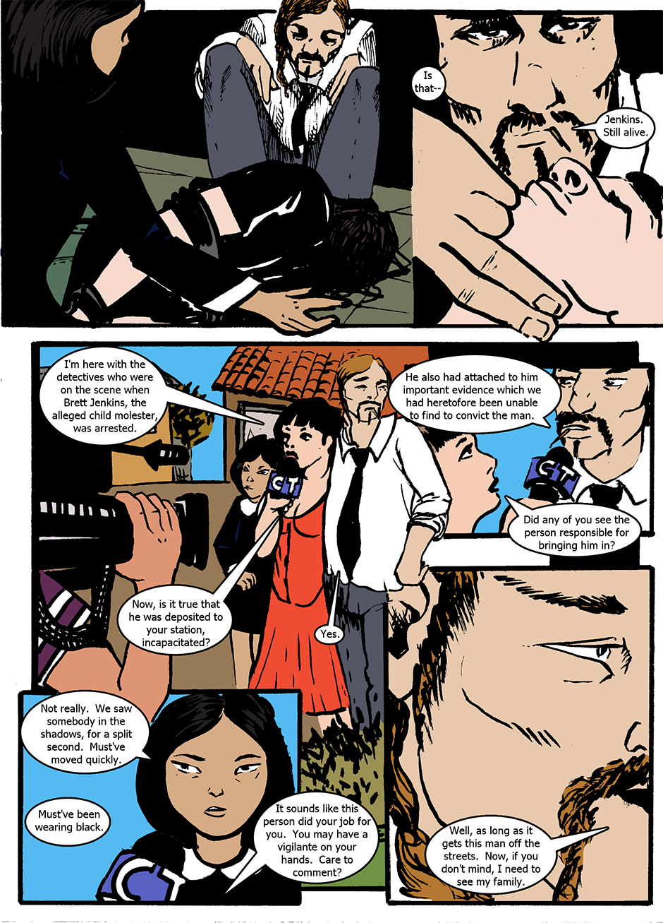 Issue 1: The Wraith Emerges - Page 2