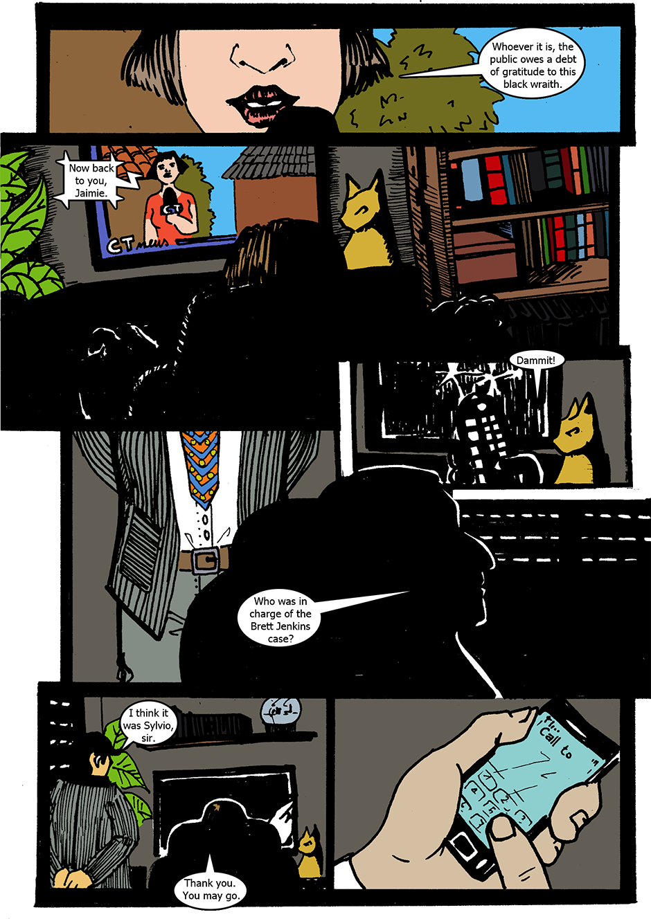 Issue 1: The Wraith Emerges - Page 3
