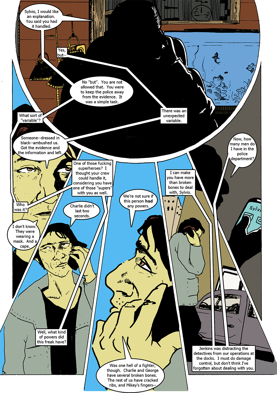 Issue 1: The Wraith Emerges - Page 4