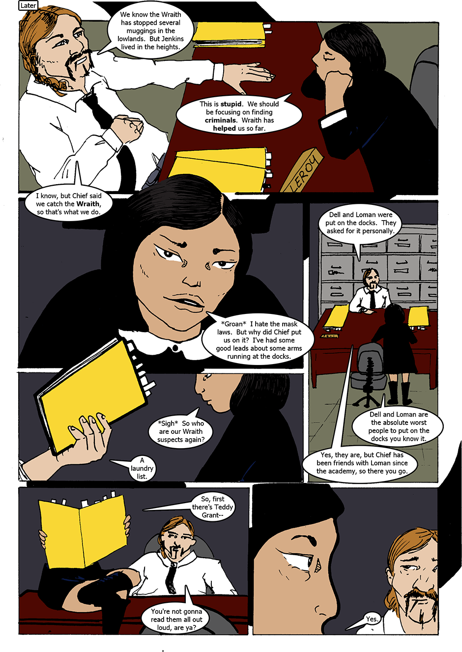 Issue 1: The Wraith Emerges - Page 5