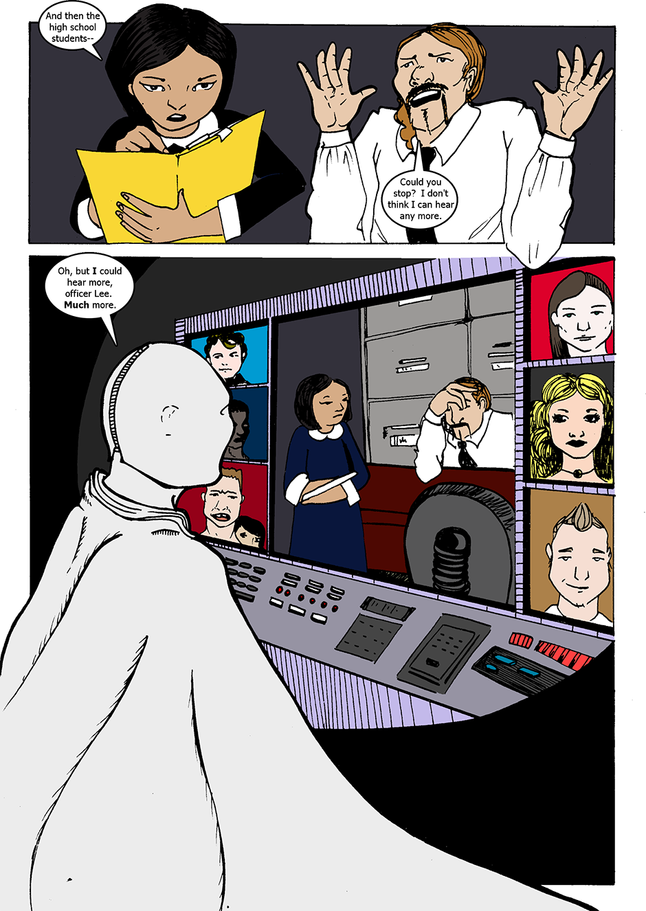 Issue 1: The Wraith Emerges - Page 8