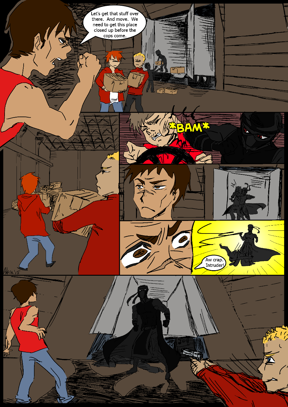 Issue 2: Investigations - Page 1