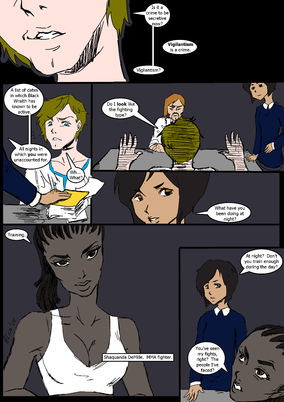 Issue 2: Investigations - Page 6