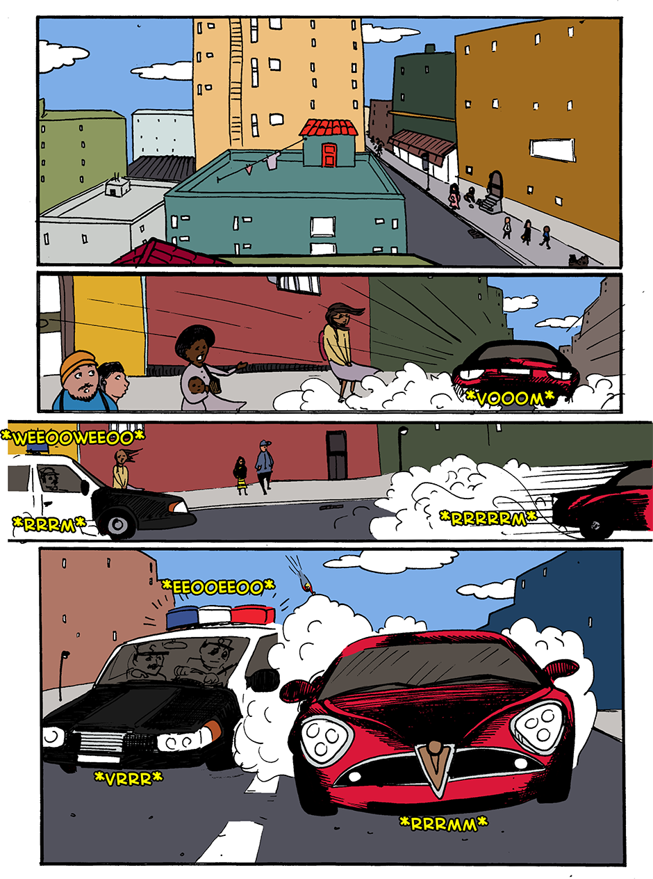 Issue 1: The Debut - Page 1